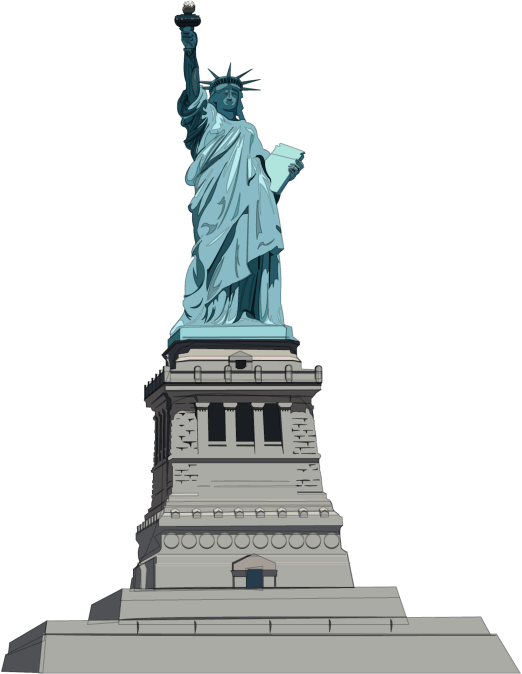 Statue Of Liberty Illustration transparent PNG - StickPNG