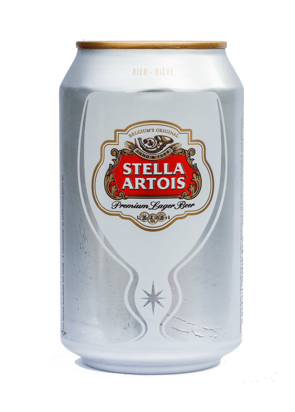 Beer Can Stella Artois transparent PNG - StickPNG