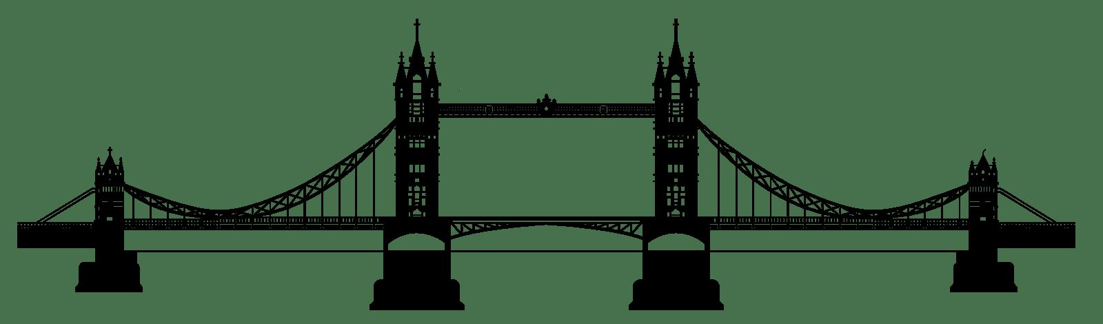 Tower Bridge Clipart Transparent Png Stickpng
