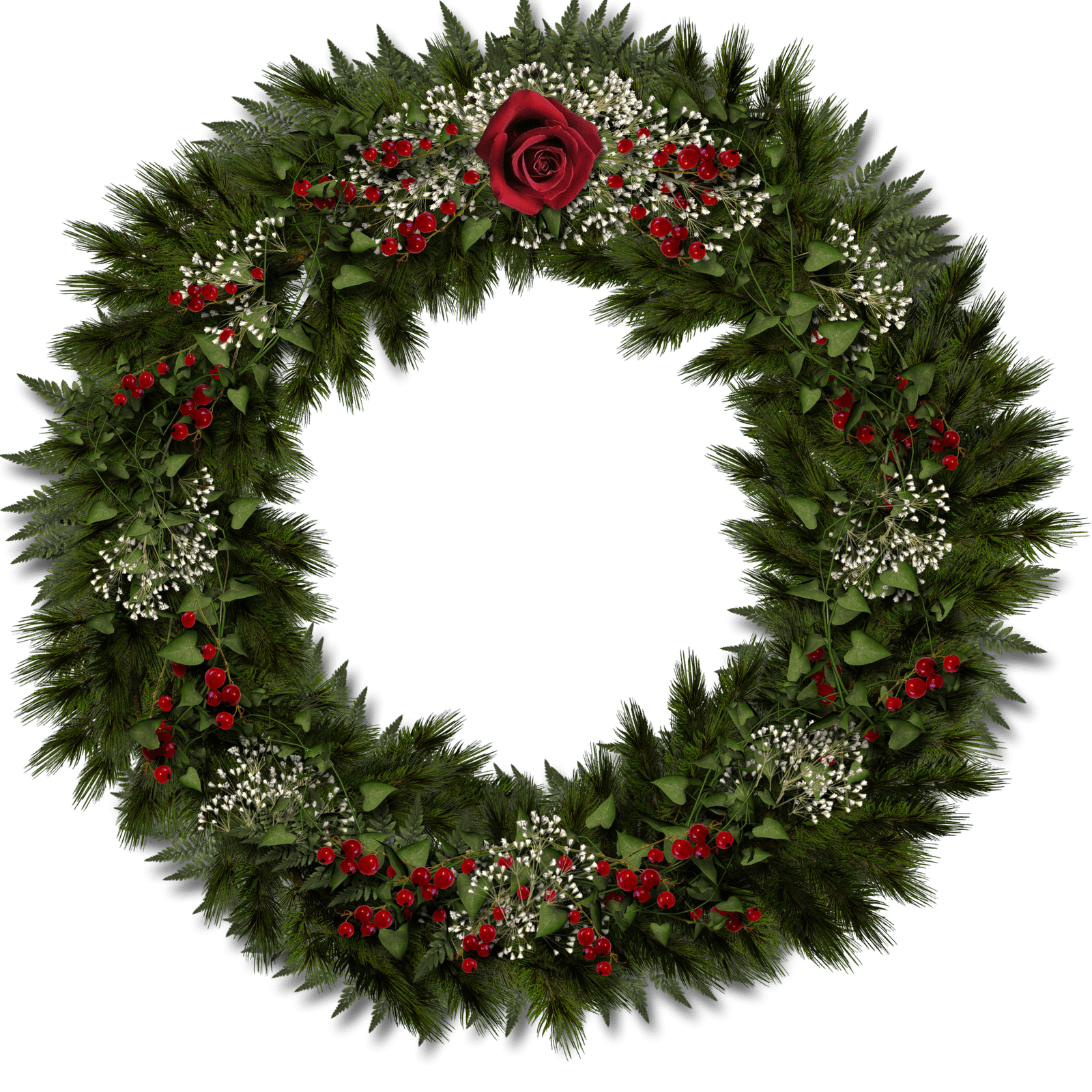 Christmas Door Decoration transparent PNG - StickPNG