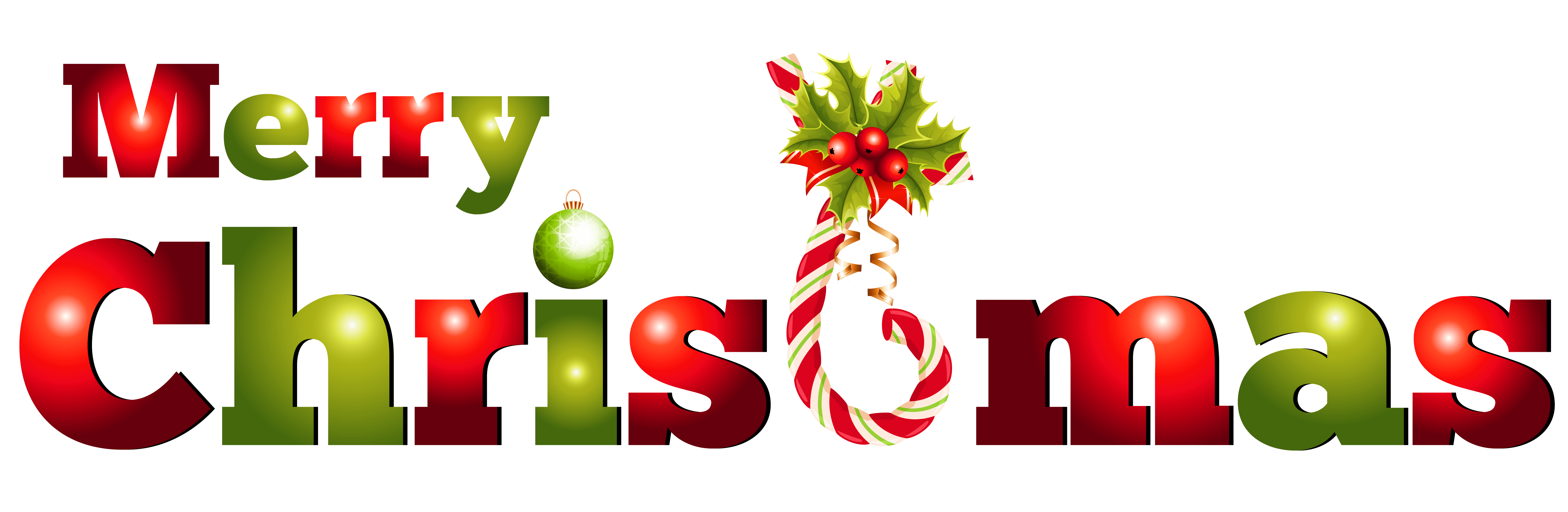Merry Christmas Candy Text transparent PNG - StickPNG