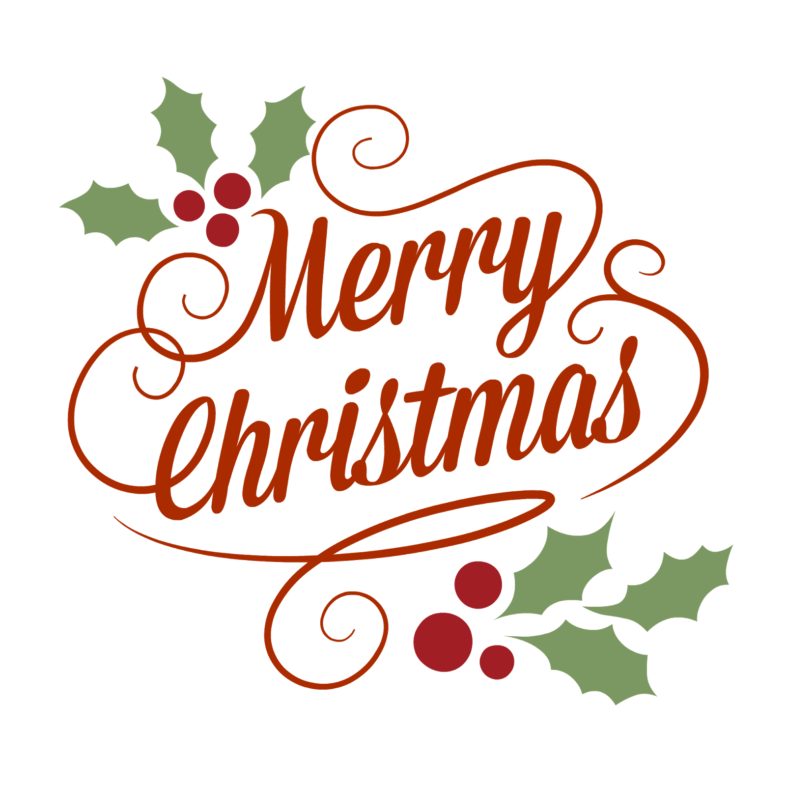 Merry Christmas Classical Vintage Sign transparent PNG - StickPNG