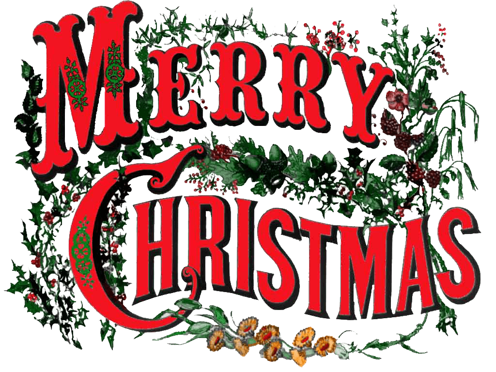 Merry Christmas Clip Art.Merry Christmas Vintage Circus Style Transparent Png Stickpng