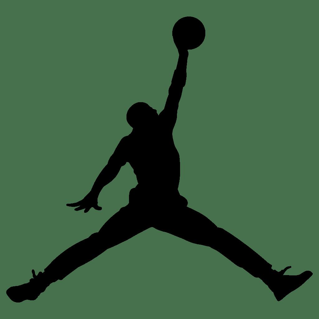 aficionado Accidentalmente hombro  Jordan Logo Jumpman Nike transparent PNG - StickPNG