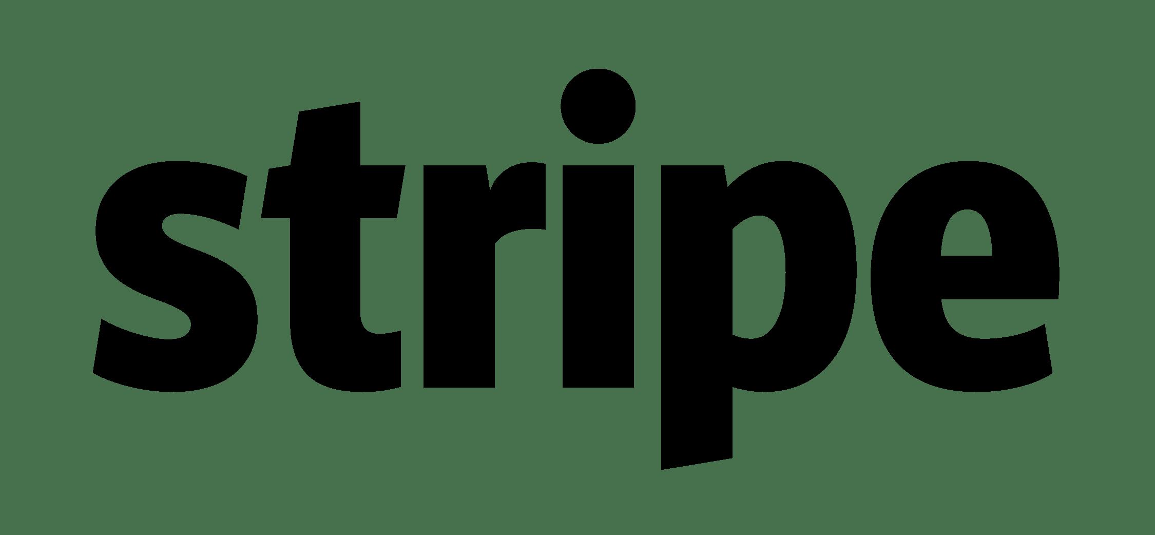Logo Stripe PNG transparents - StickPNG