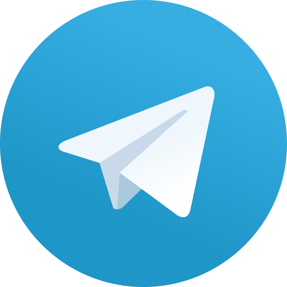 Logo Telegram PNG transparente - StickPNG
