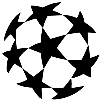 uefa champions league ball logo transparent png stickpng stickpng