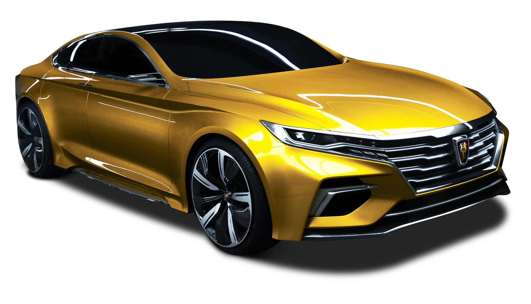 roewe vision r yellow gold transparent png stickpng