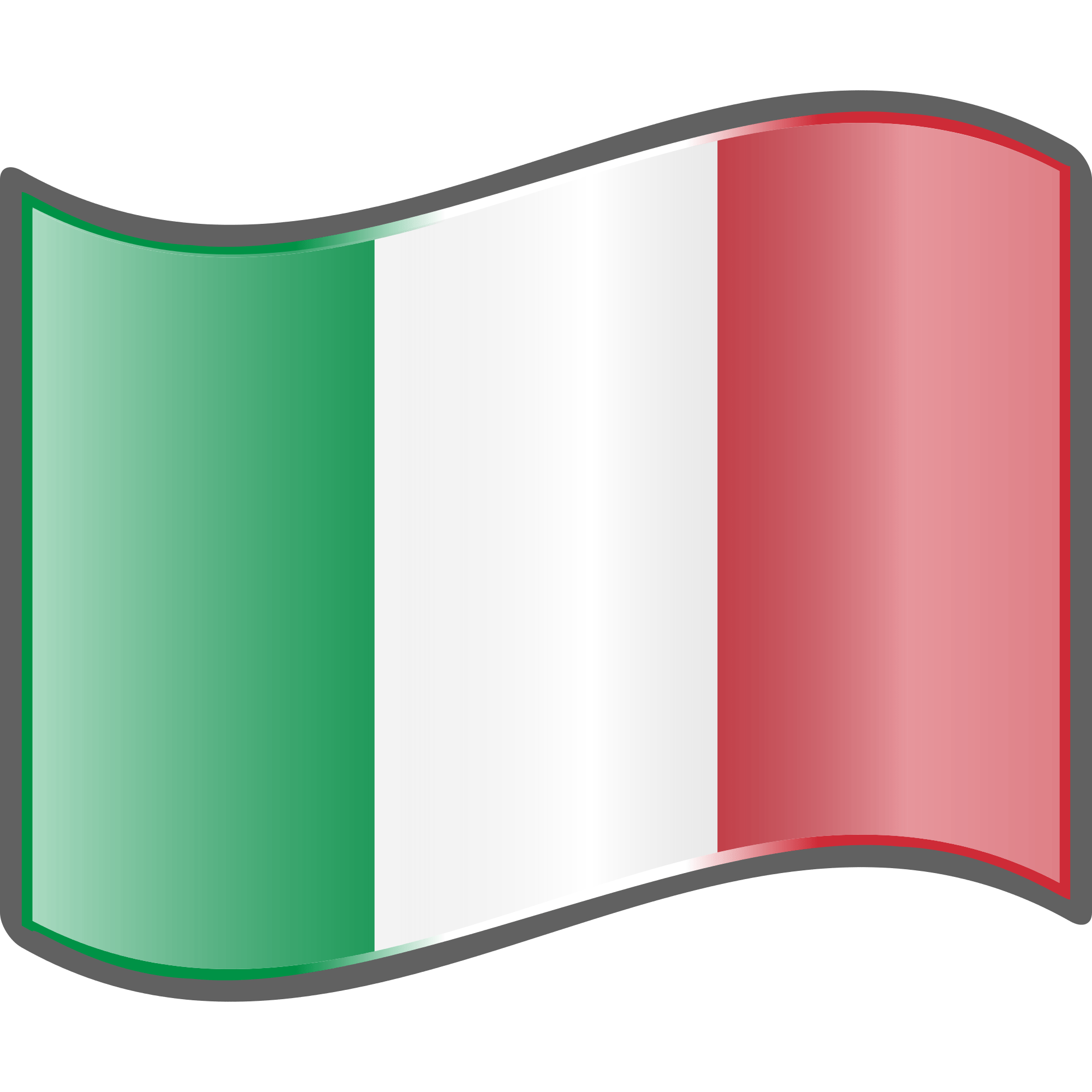 italian flag wave transparent png stickpng rh stickpng com Waving Italian Flag italian flag clipart black and white