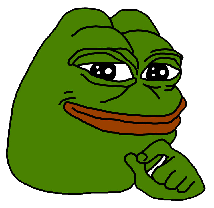 Black And White Sad Pepe Transparent Png Stickpng
