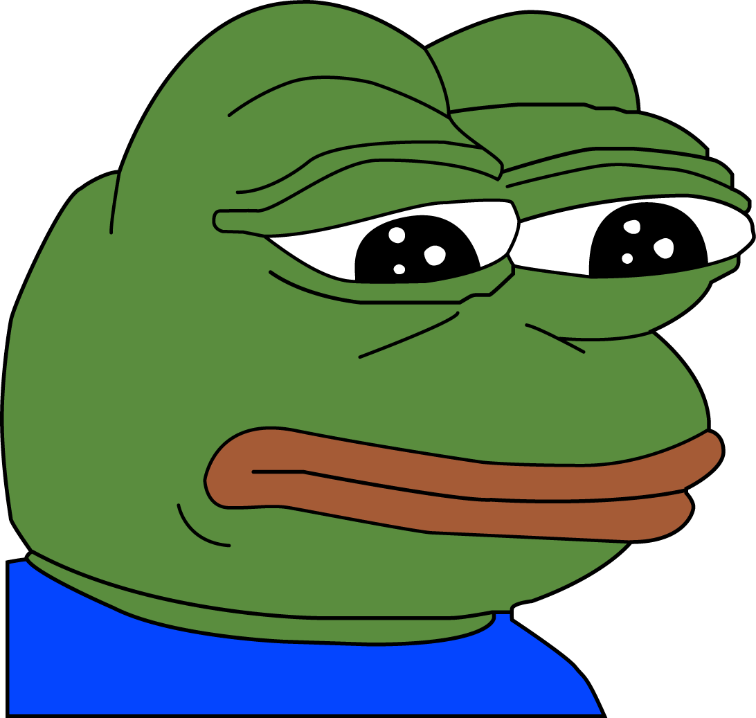 Image result for sad pepe