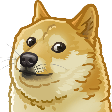 Doge fluffy artwork transparent png stickpng - Doge steam background ...