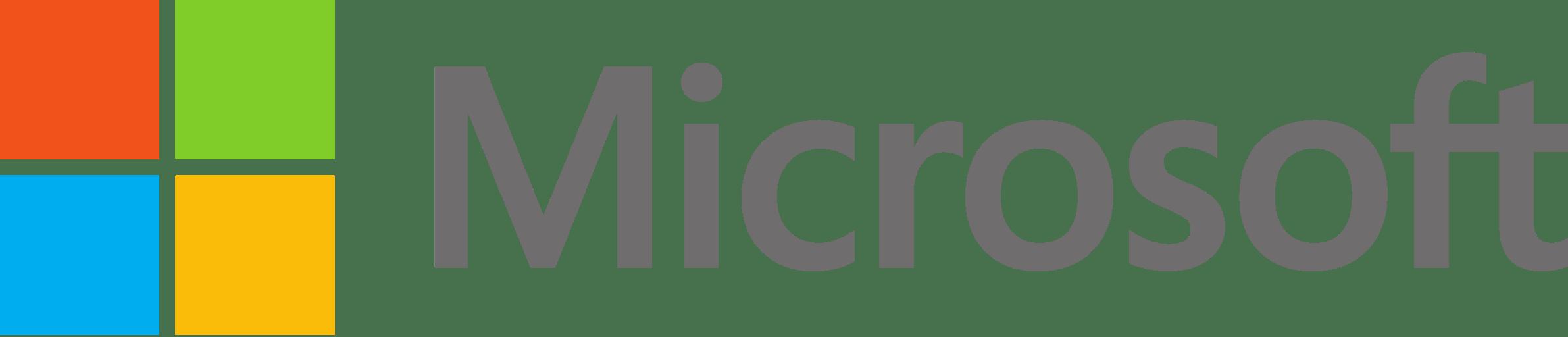 Logo Microsoft PNG transparente - StickPNG
