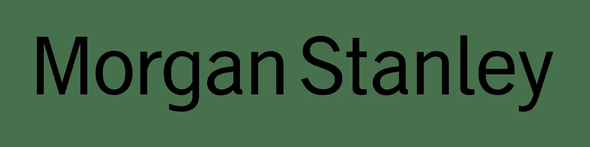 Morgan Stanley Logo Transparent Png Stickpng