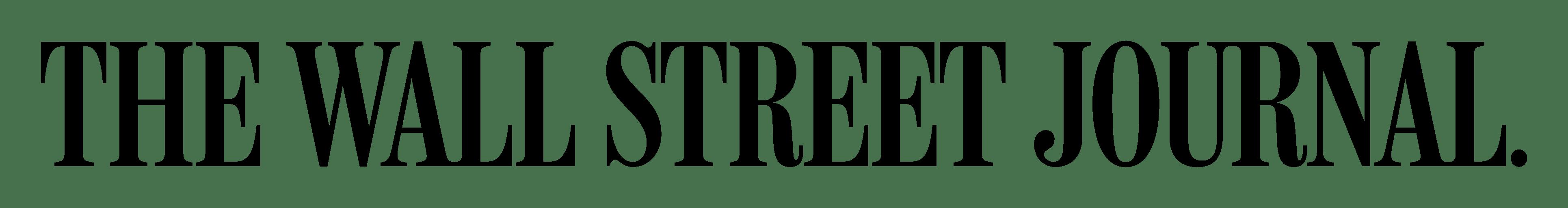 The Wall Street Journal Logo transparent PNG StickPNG