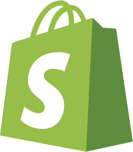 Image result for shopify logo