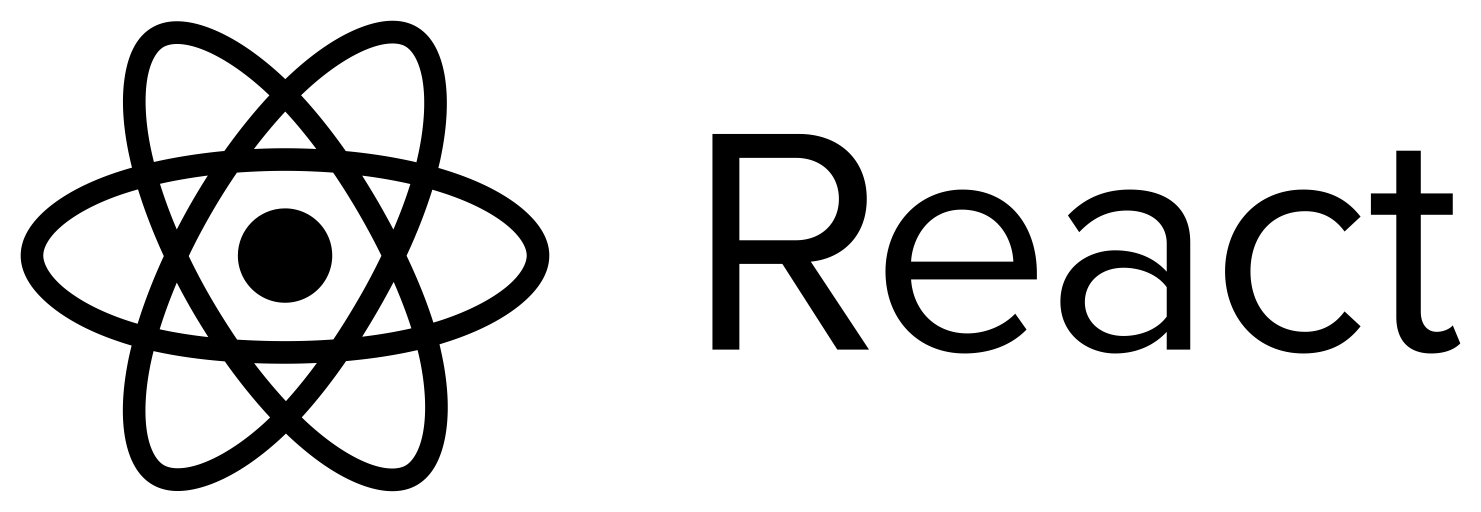 React Logo Text transparent PNG - StickPNG