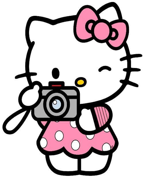 hello kitty taking a picture transparent png stickpng Clip Art Logos for Photography Taking Pulse Clip Art