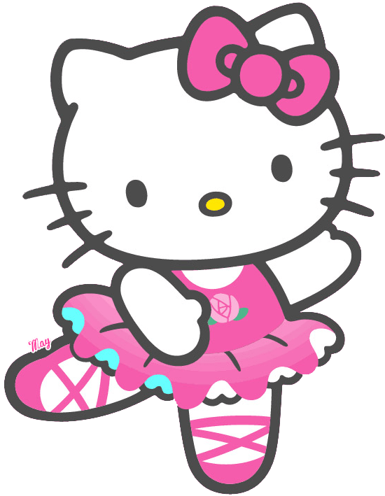Hello kitty dancing transparent png stickpng - Ballerine hello kitty ...