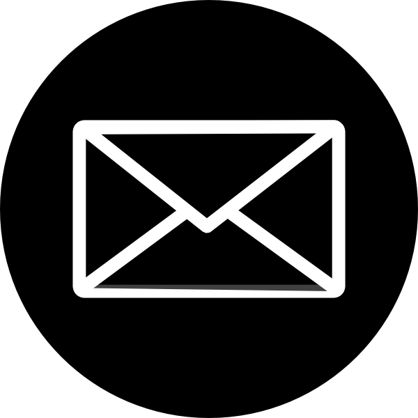 Email Icon Black Circle Envelope Transparent Png Stickpng Leader logo in white background. stickpng