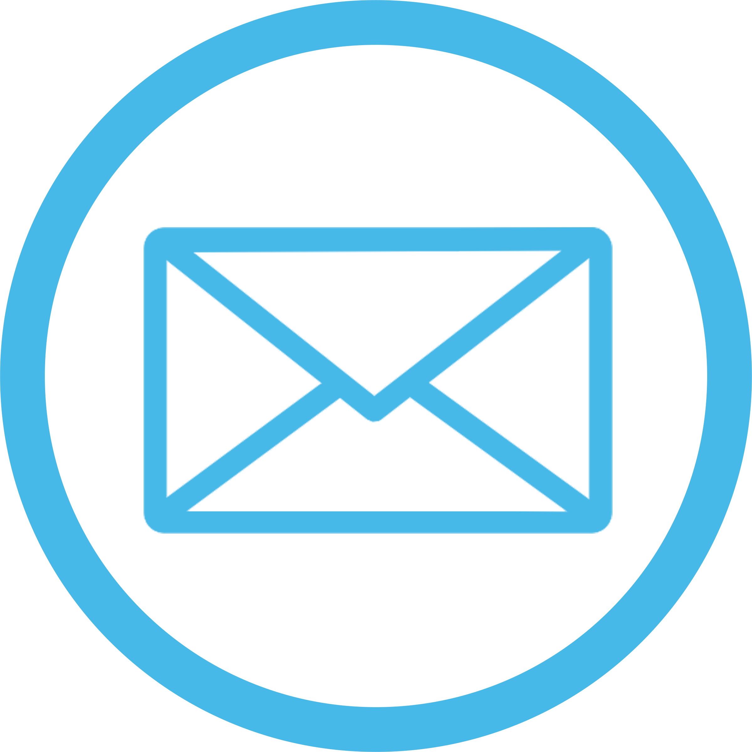Email Icon Blue transparent PNG - StickPNG