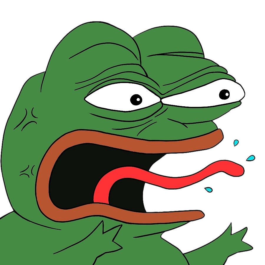 pepe the frog transparent png images stickpng