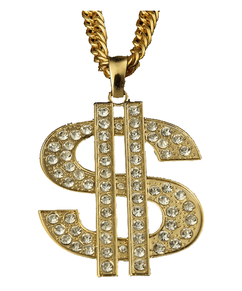 2400afd71fe62d Thug Life Dollar Sign transparent PNG - StickPNG