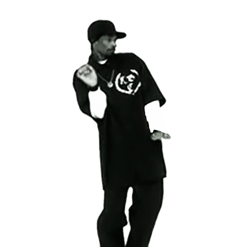 Thug Life Snoop Dogg Dancing Transparent Png Stickpng