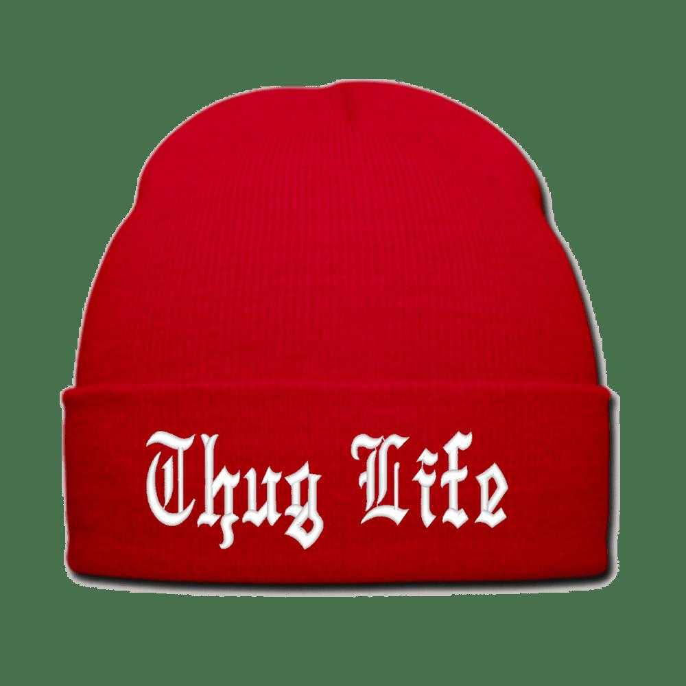 5e065ea58d1 Thug Life Hat Red transparent PNG - StickPNG