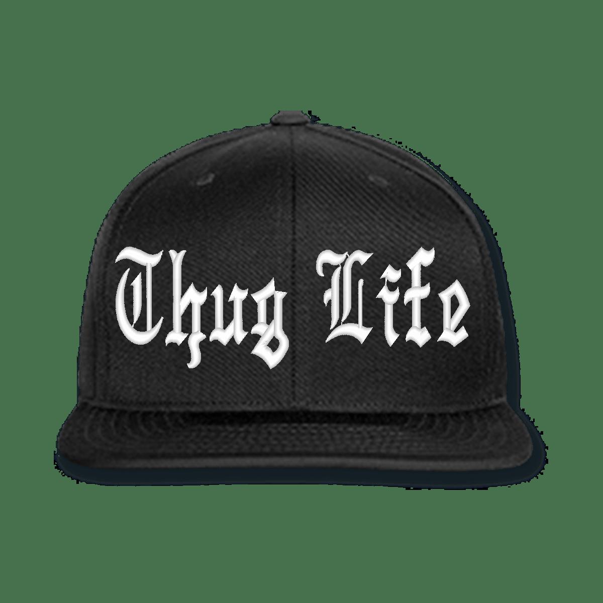 9cf6523136072 Thug Life Black Cap transparent PNG - StickPNG