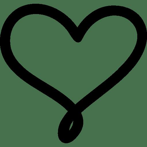 Heart Outline Clip Art Png
