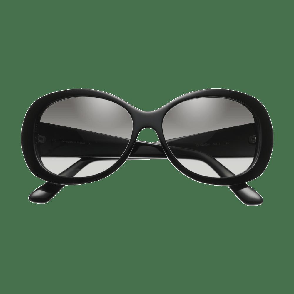 7b1c012f782 Cartier Sunglasses Black transparent PNG - StickPNG