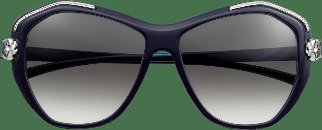 30f00111b79 Cartier Sunglasses Panthere transparent PNG - StickPNG