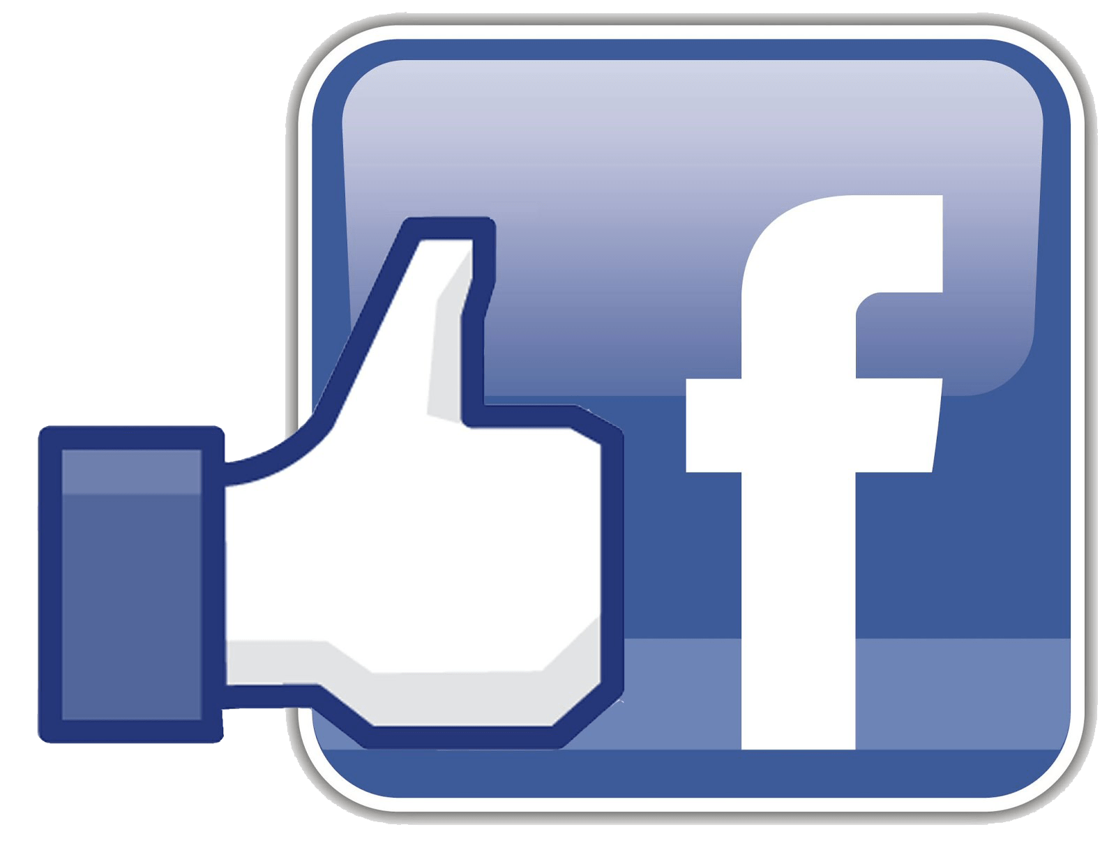 Icono Facebook con Like PNG transparente - StickPNG