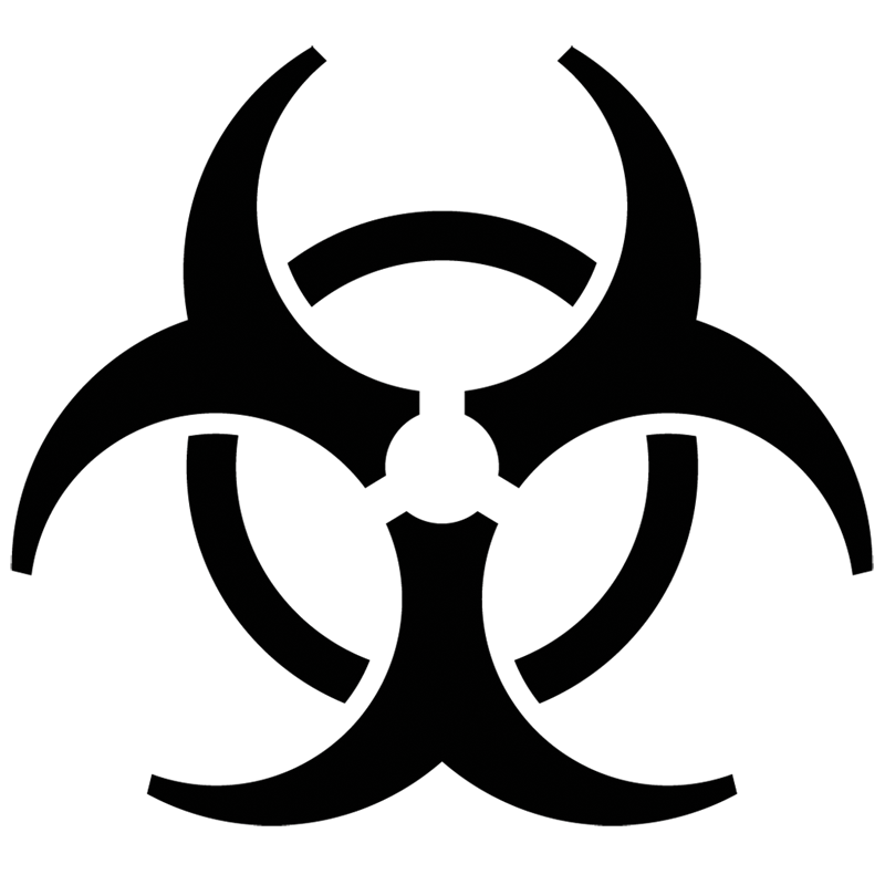 Free Biohazard Symbol Gallery Meaning Of Text Symbols