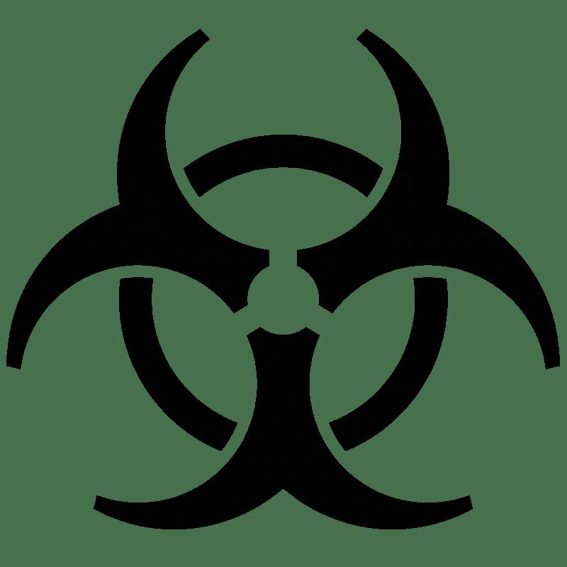 biohazard symbol transparent png stickpng rh stickpng com biohazard logo images biohazard logo clip art