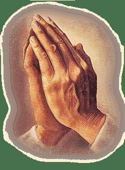 Manos Orando De Epoca PNG transparente - StickPNG