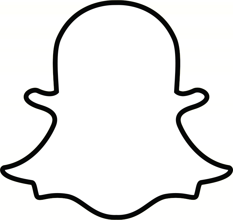 image relating to Printable Snapchat Logo referred to as Snapchat Ghost Determine clear PNG - StickPNG
