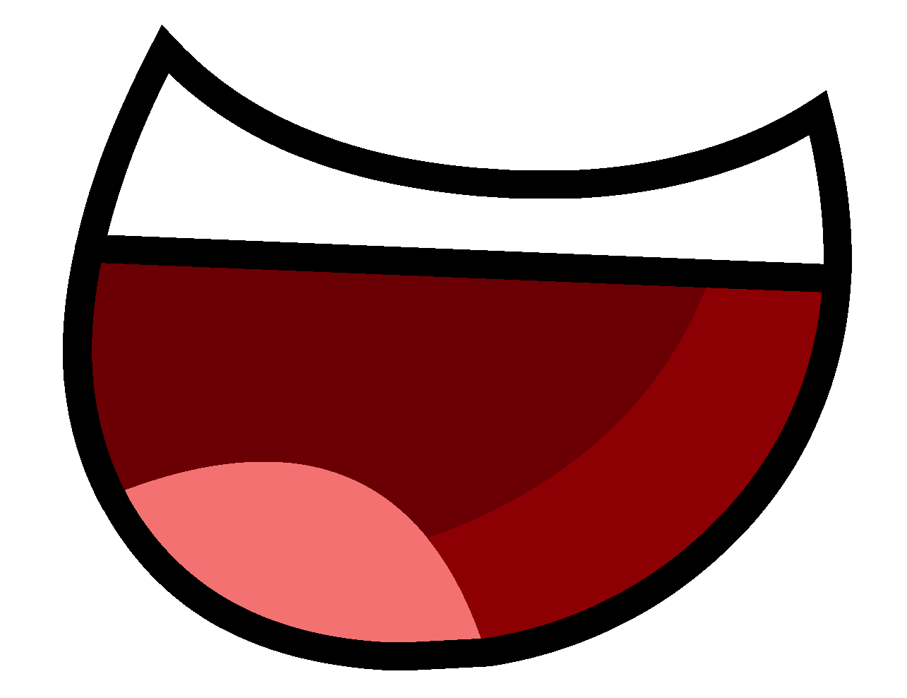 Cartoon Mouth Transparent PNG