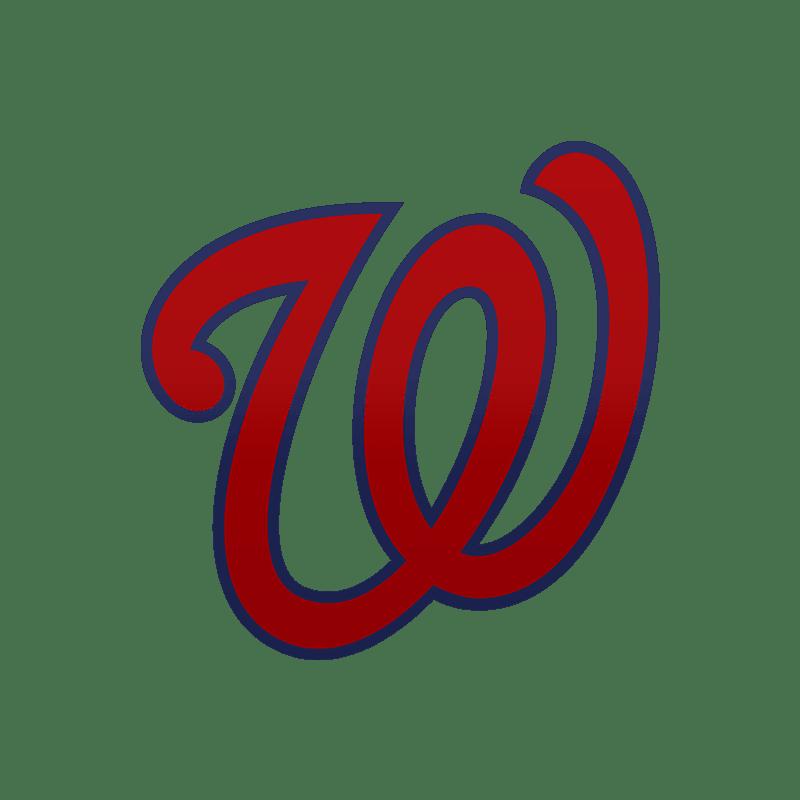 washington nationals w logo transparent png stickpng