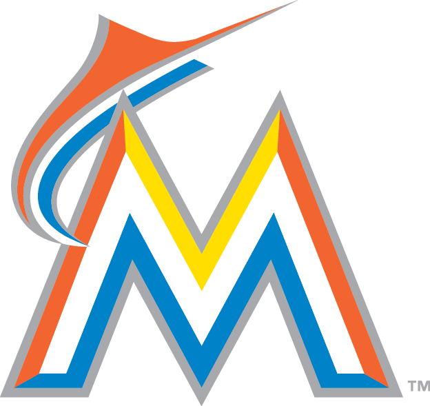 Miami Marlins M Logo Transparent PNG