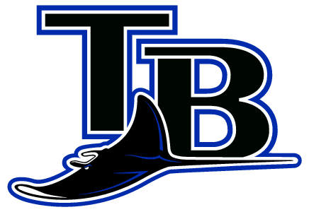 tampa bay rays ray logo transparent png stickpng stickpng