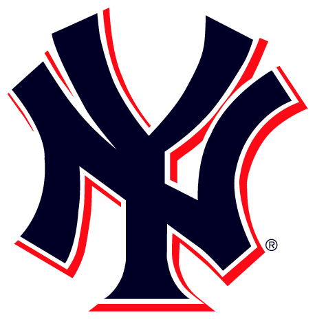 a1aa29dbd New York Yankees Logo 2 Colours transparent PNG - StickPNG