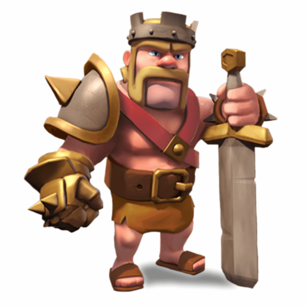 Clash Clans Barbarian King Transparent PNG StickPNG