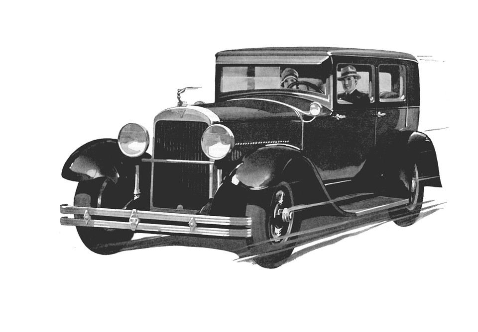 Old Black Car Drawing transparent PNG - StickPNG