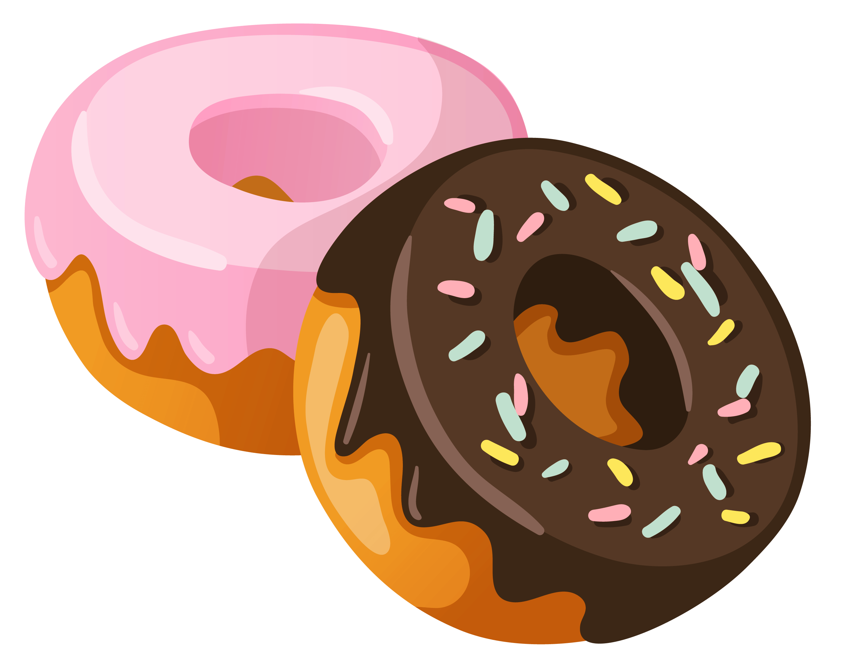 donuts clipart transparent png stickpng rh stickpng com donut clip art vector donut clip art images