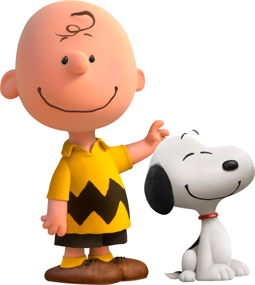 Charlie Brown and Snoopy transparent PNG - StickPNG