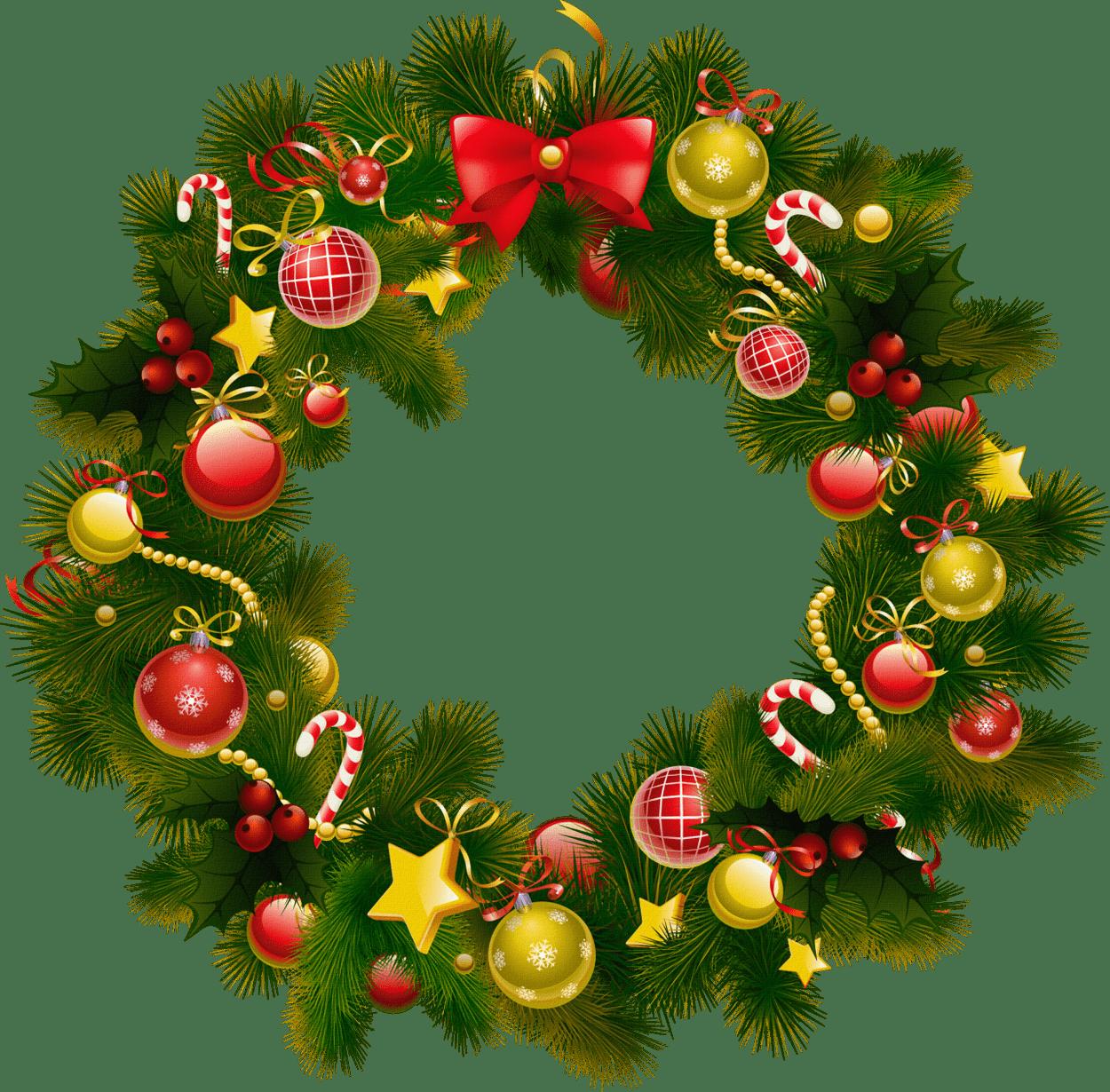 simple christmas wreath - Simple Christmas Wreaths