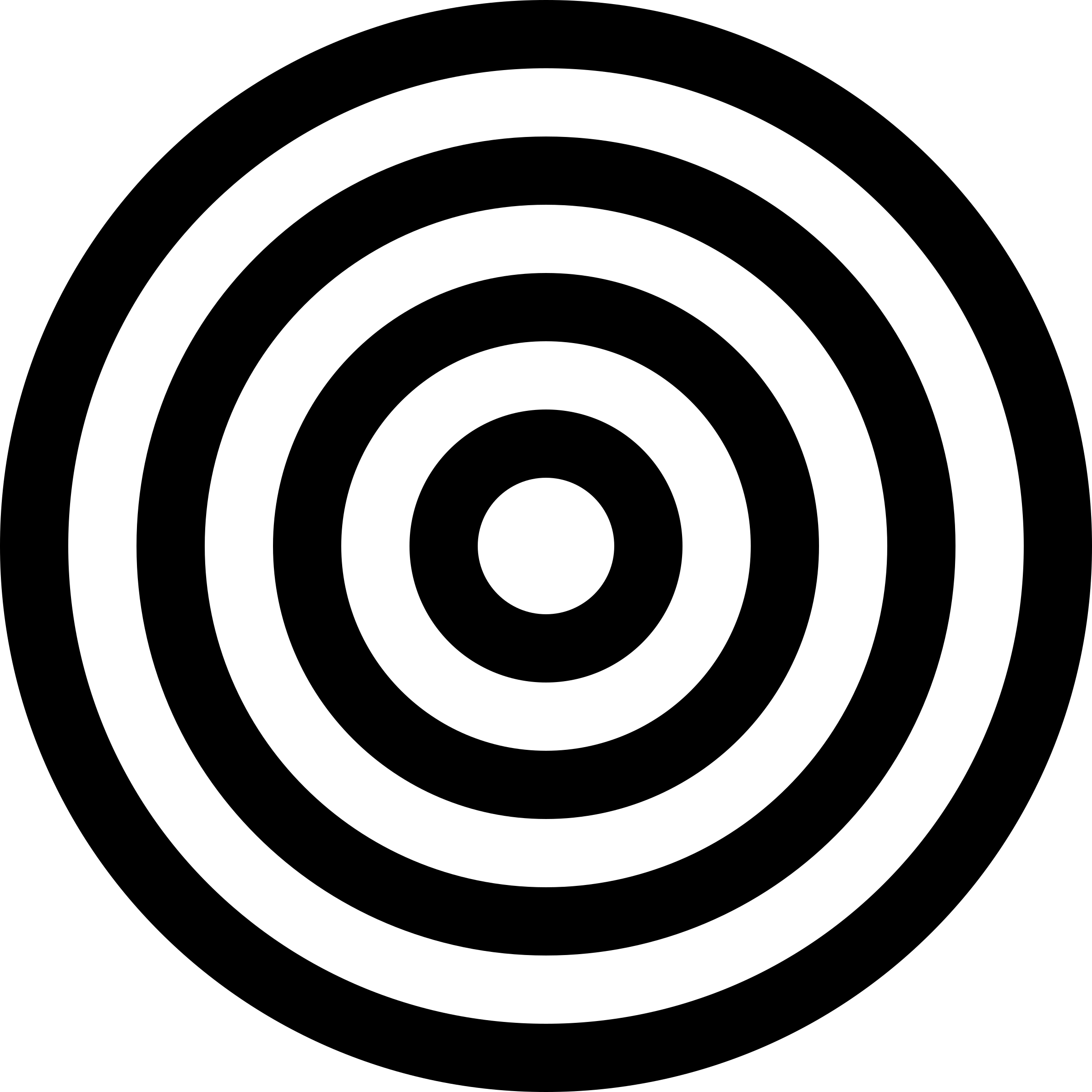 Black And White Target Transparent Png Stickpng