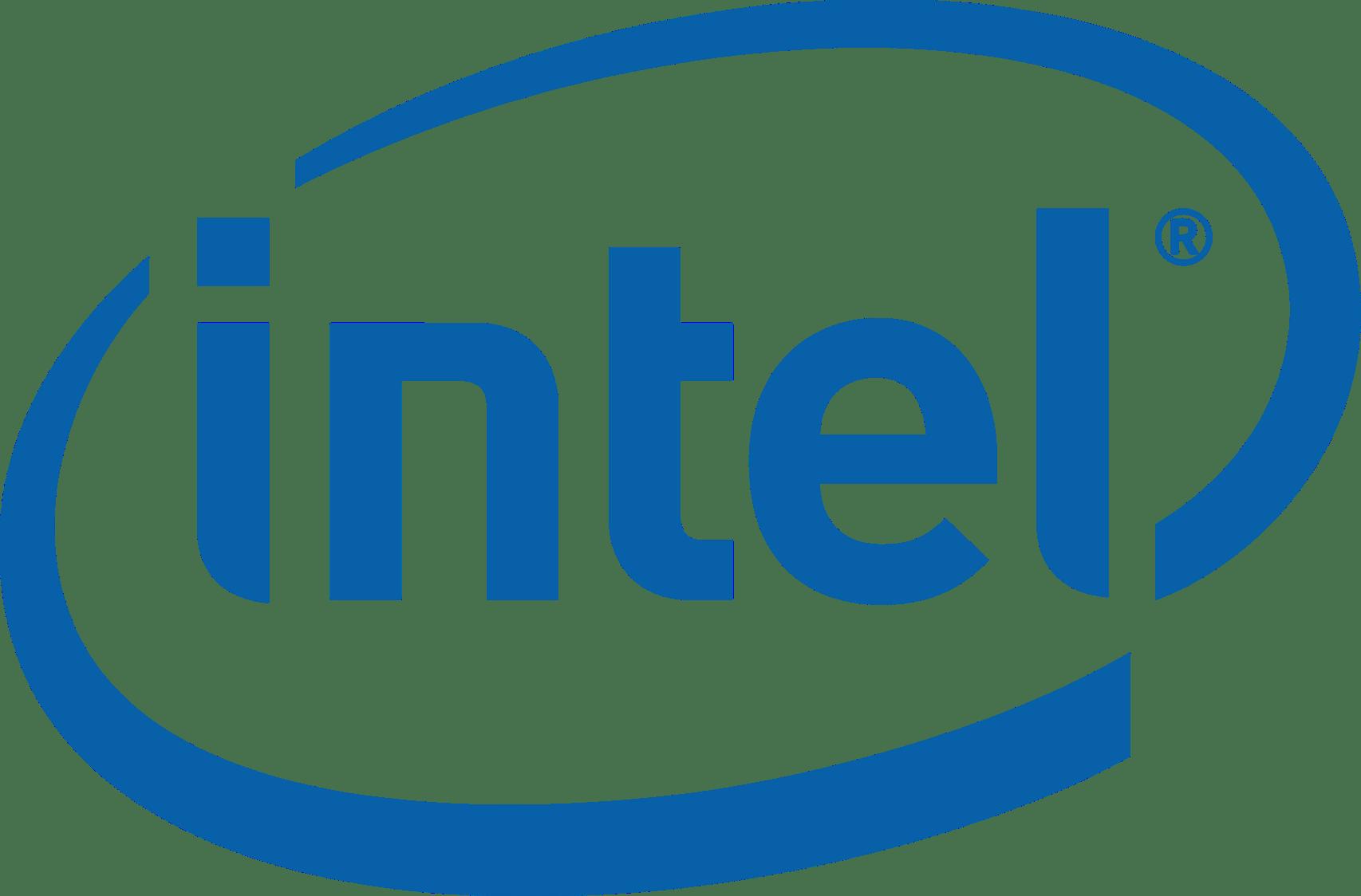 Intel Logo transparent PNG - StickPNG